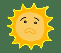 Funny Sun sticker #9474017