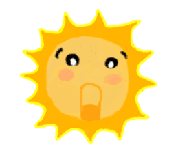 Funny Sun sticker #9474018