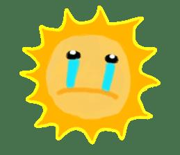 Funny Sun sticker #9474025