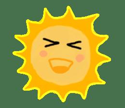 Funny Sun sticker #9474028