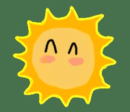 Funny Sun sticker #9474032