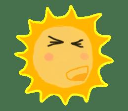 Funny Sun sticker #9474035