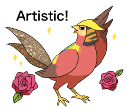 Hatoful Boyfriend official stickers sticker #9483565