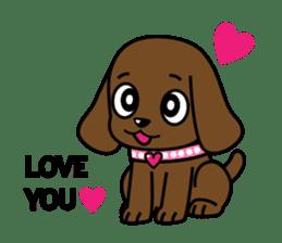 Miss Muddy Puppy sticker #9487024