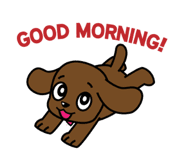 Miss Muddy Puppy sticker #9487025