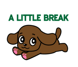 Miss Muddy Puppy sticker #9487026