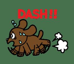 Miss Muddy Puppy sticker #9487027