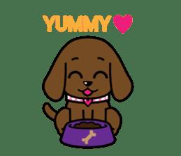 Miss Muddy Puppy sticker #9487028