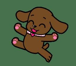Miss Muddy Puppy sticker #9487029