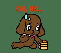 Miss Muddy Puppy sticker #9487031