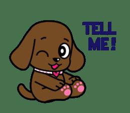 Miss Muddy Puppy sticker #9487032