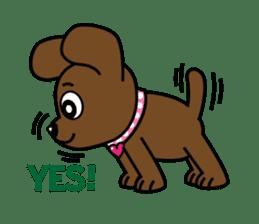 Miss Muddy Puppy sticker #9487035