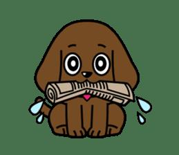 Miss Muddy Puppy sticker #9487036