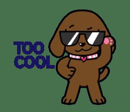 Miss Muddy Puppy sticker #9487039