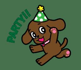 Miss Muddy Puppy sticker #9487041