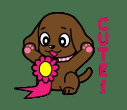 Miss Muddy Puppy sticker #9487042