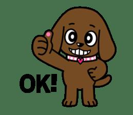 Miss Muddy Puppy sticker #9487044
