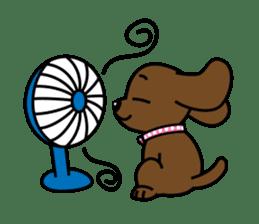 Miss Muddy Puppy sticker #9487046