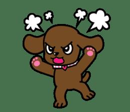 Miss Muddy Puppy sticker #9487048