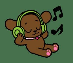 Miss Muddy Puppy sticker #9487051