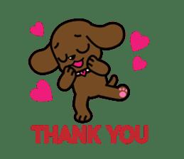 Miss Muddy Puppy sticker #9487052