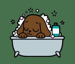 Miss Muddy Puppy sticker #9487053