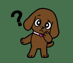 Miss Muddy Puppy sticker #9487055