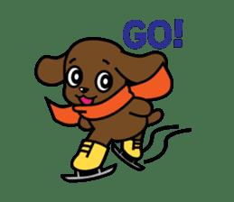 Miss Muddy Puppy sticker #9487056