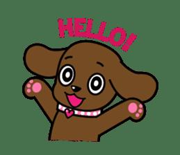 Miss Muddy Puppy sticker #9487058