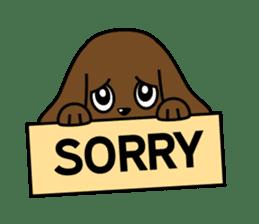 Miss Muddy Puppy sticker #9487061