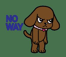 Miss Muddy Puppy sticker #9487063