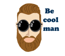 BORN TO BE HIPSTER sticker #9490424
