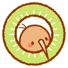 Anytime Kiwi sticker #9496426