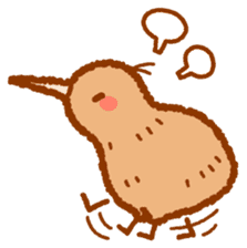 Anytime Kiwi sticker #9496435