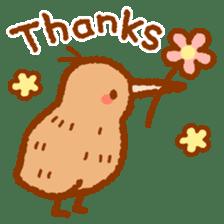 Anytime Kiwi sticker #9496437