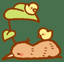 Anytime Kiwi sticker #9496442