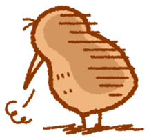 Anytime Kiwi sticker #9496450