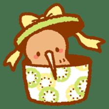 Anytime Kiwi sticker #9496452