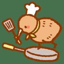Anytime Kiwi sticker #9496458
