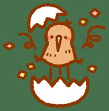 Anytime Kiwi sticker #9496463