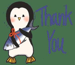 Bipolar Penguin & Moody Walrus (Eng.ver) sticker #9497466