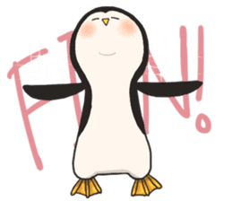 Bipolar Penguin & Moody Walrus (Eng.ver) sticker #9497468