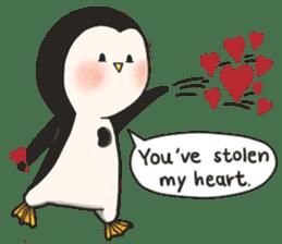 Bipolar Penguin & Moody Walrus (Eng.ver) sticker #9497469