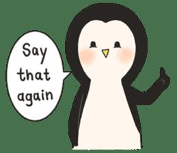 Bipolar Penguin & Moody Walrus (Eng.ver) sticker #9497474