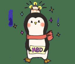 Bipolar Penguin & Moody Walrus (Eng.ver) sticker #9497476