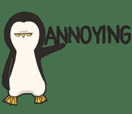Bipolar Penguin & Moody Walrus (Eng.ver) sticker #9497485