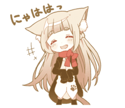 NEKOMIMI girl sticker sticker #9497624