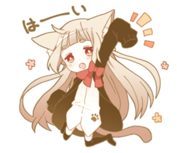 NEKOMIMI girl sticker sticker #9497626