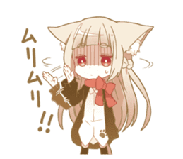 NEKOMIMI girl sticker sticker #9497634