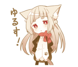 NEKOMIMI girl sticker sticker #9497637